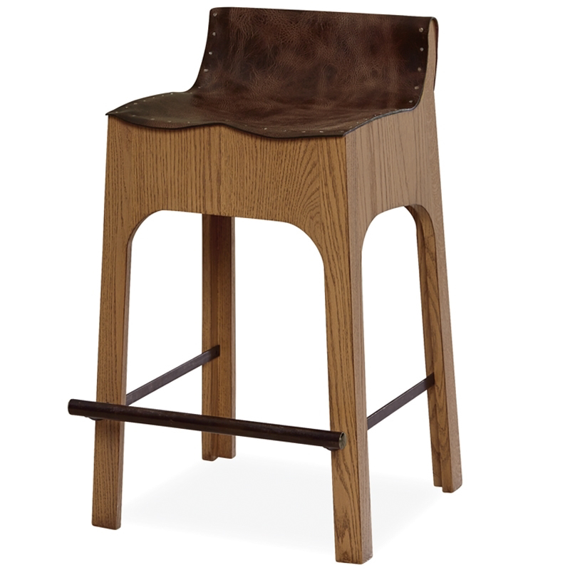 Fabulous Racquet Club Leather Counter Stool Andrewgaddart Wooden Chair Designs For Living Room Andrewgaddartcom