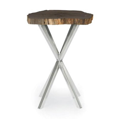 black-petrified-end-table-front1