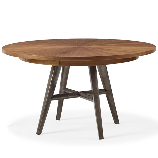 Craft Round Walnut Dining Table