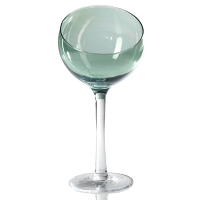 ball-glass-on-stem-green-luster-front1