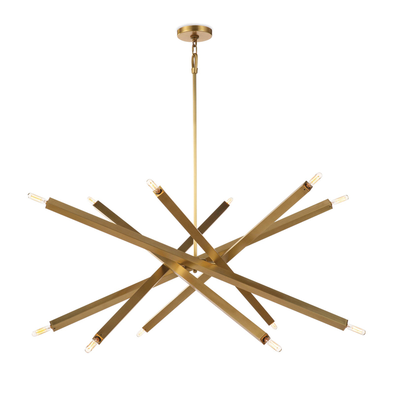 viper-chandelier-natural-brass-front1