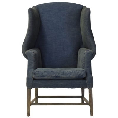 Picture of Beau Fabric Wing Chair